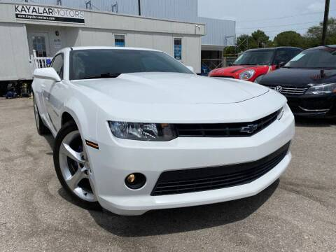 2015 Chevrolet Camaro for sale at KAYALAR MOTORS in Houston TX