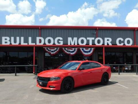 2018 Dodge Charger for sale at Bulldog Motor Company in Borger TX