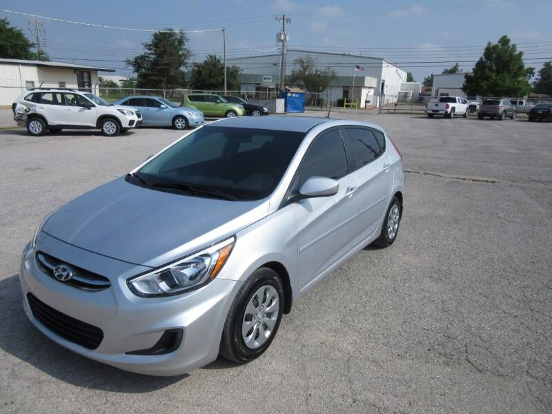 2017 Hyundai Accent for sale at Grays Used Cars in Oklahoma City OK