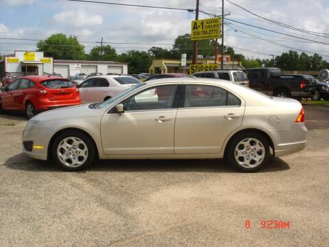 2010 Ford Fusion for sale at A-1 Auto Sales in Conroe TX