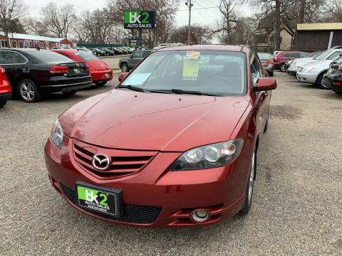 2006 Mazda MAZDA3 for sale at BK2 Auto Sales in Beloit WI