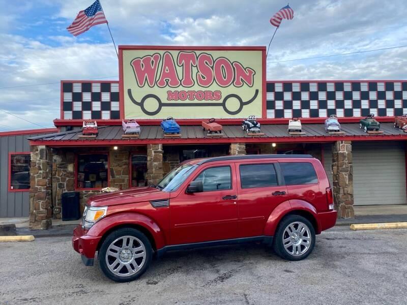 2010 Dodge Nitro for sale at Watson Motors in Poteau OK