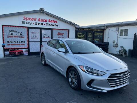 2018 Hyundai Elantra for sale at Speed Auto Sales in El Cajon CA