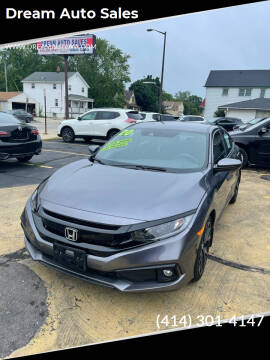 2020 Honda Civic for sale at Dream Auto Sales in South Milwaukee WI
