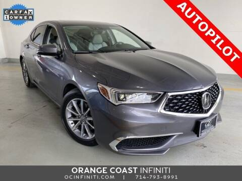 2018 Acura TLX for sale at ORANGE COAST CARS in Westminster CA