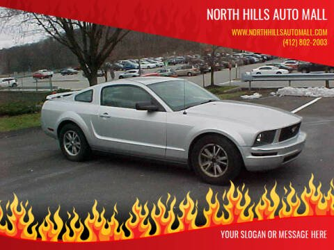 2005 Ford Mustang for sale at North Hills Auto Mall in Pittsburgh PA