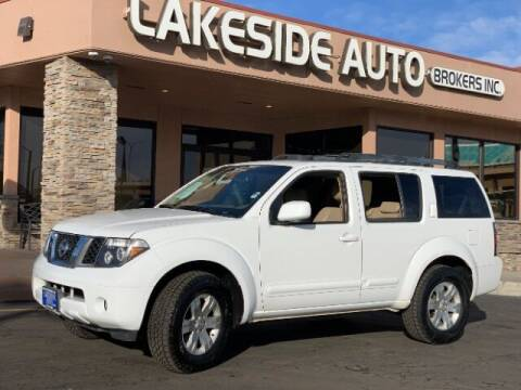 2006 Nissan Pathfinder for sale at Lakeside Auto Brokers Inc. in Colorado Springs CO