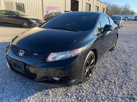 2013 Honda Civic for sale at Alpha Automotive in Odenville AL