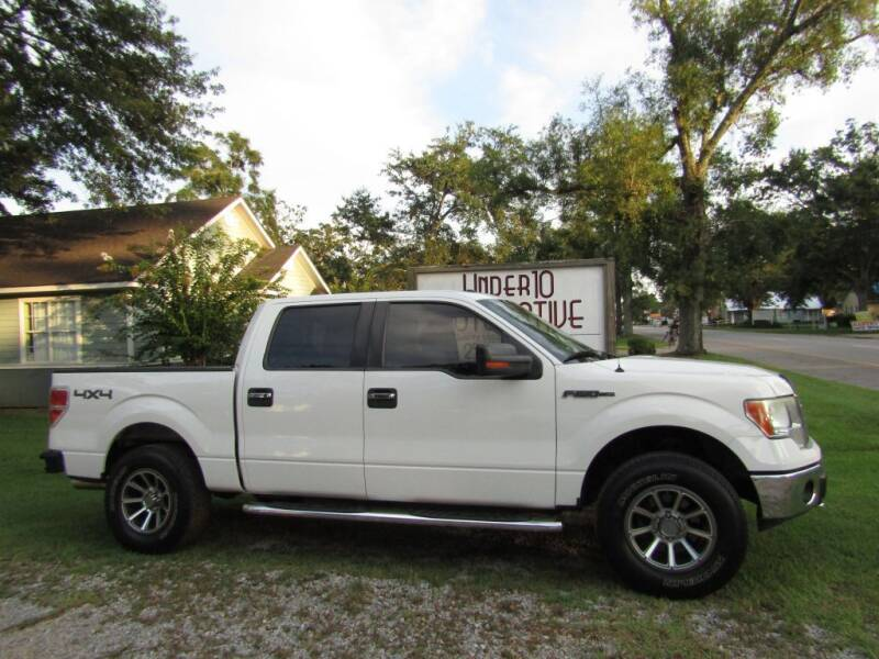 2013 Ford F-150 for sale at Under 10 Automotive in Robertsdale AL