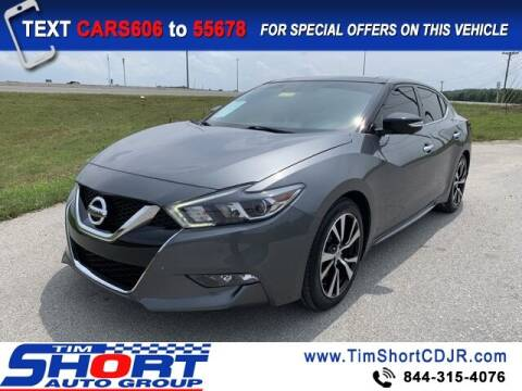 2018 Nissan Maxima for sale at Tim Short Chrysler in Morehead KY