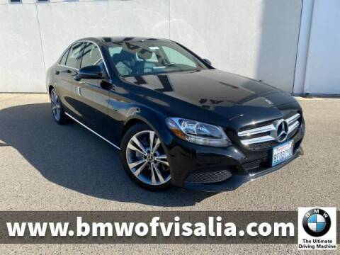 2018 Mercedes-Benz C-Class for sale at BMW OF VISALIA in Visalia CA