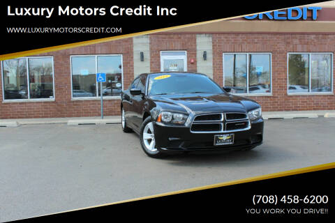 2013 Dodge Charger for sale at Luxury Motors Credit Inc in Bridgeview IL