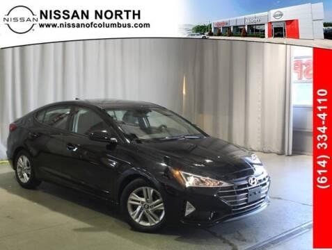 2019 Hyundai Elantra for sale at Auto Center of Columbus in Columbus OH