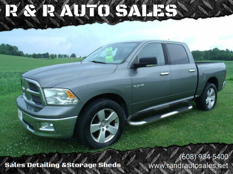 2010 Dodge Ram Pickup 1500 for sale at R & R AUTO SALES in Juda WI