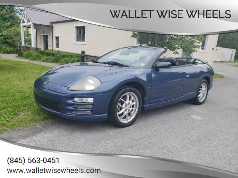 2002 Mitsubishi Eclipse Spyder for sale at Wallet Wise Wheels in Montgomery NY