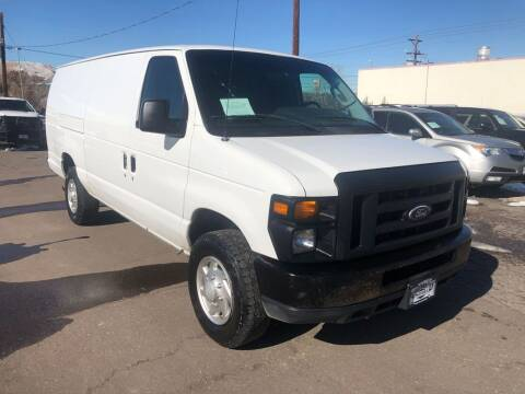 2014 Ford E-Series Cargo for sale at BERKENKOTTER MOTORS in Brighton CO