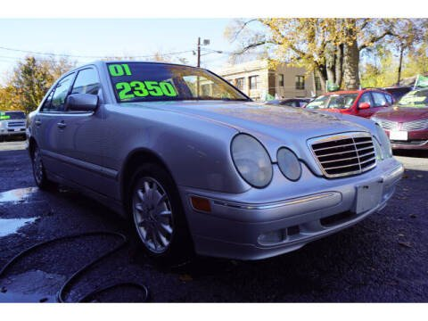 2001 Mercedes-Benz E-Class for sale at M & R Auto Sales INC. in North Plainfield NJ