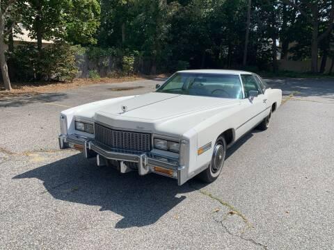 1976 Cadillac Eldorado for sale at Long Island Exotics in Holbrook NY