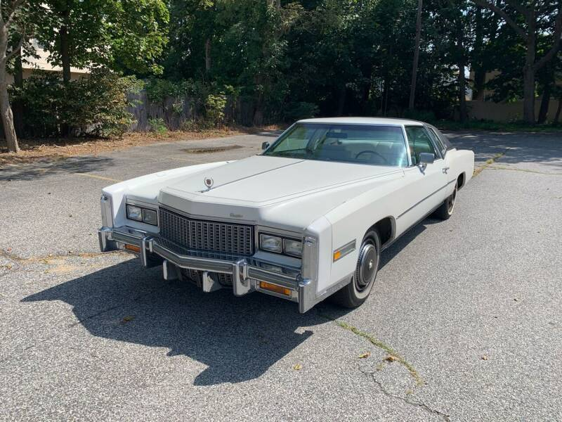 1976 Cadillac Eldorado for sale at Long Island Exotics in Holbrook NY