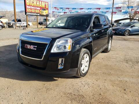 2015 GMC Terrain for sale at Bickham Used Cars in Alamogordo NM