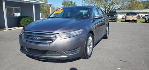 2013 Ford Taurus for sale at Jacks Auto Sales in Mountain Home AR