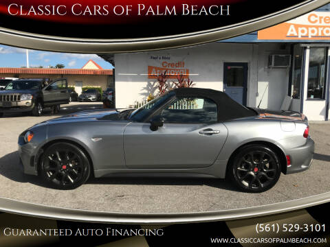 2017 FIAT 124 Spider for sale at Classic Cars of Palm Beach in Jupiter FL