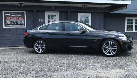2016 BMW 4 Series for sale at O & E Auto Sales in Hammonton NJ