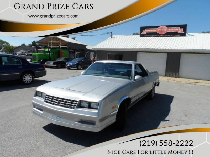 1986 Chevrolet El Camino for sale at Grand Prize Cars in Cedar Lake IN