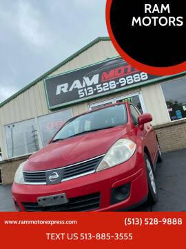 2007 Nissan Versa for sale at RAM MOTORS in Cincinnati OH