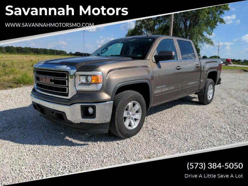 2014 GMC Sierra 1500 for sale at Savannah Motors in Elsberry MO
