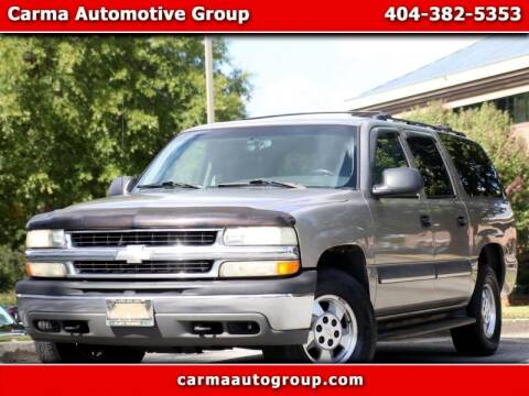 2003 Chevrolet Suburban for sale at Carma Auto Group in Duluth GA