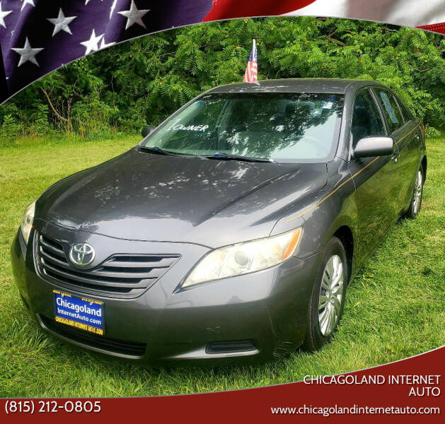 2007 Toyota Camry for sale at Chicagoland Internet Auto - 410 N Vine St New Lenox IL, 60451 in New Lenox IL
