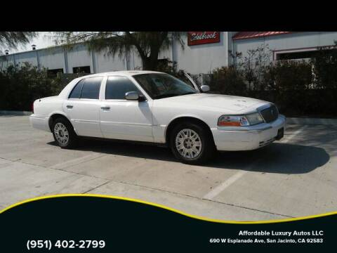 2005 Mercury Grand Marquis for sale at Affordable Luxury Autos LLC in San Jacinto CA