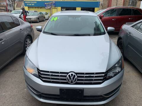 2014 Volkswagen Passat for sale at HW Used Car Sales LTD in Chicago IL