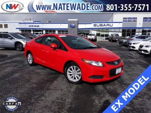 2012 Honda Civic for sale at NATE WADE SUBARU in Salt Lake City UT