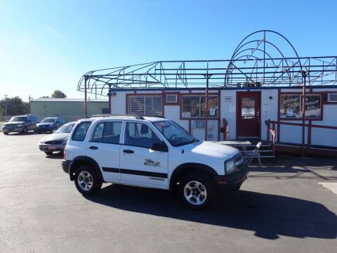 2002 Chevrolet Tracker for sale at Jim's Cars by Priced-Rite Auto Sales in Missoula MT