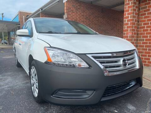 2014 Nissan Sentra for sale at Aiden Motor Company in Portsmouth VA