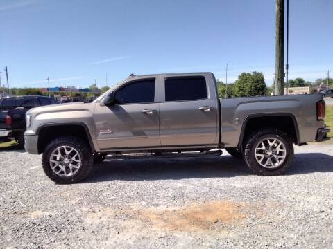 2017 GMC Sierra 1500 for sale at NORTHWOOD TRUCK SALES in Northport AL