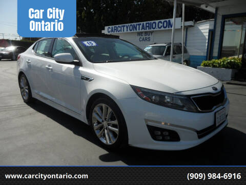 2015 Kia Optima for sale at Car City Ontario in Ontario CA
