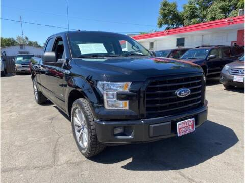 2017 Ford F-150 for sale at Dealers Choice Inc in Farmersville CA