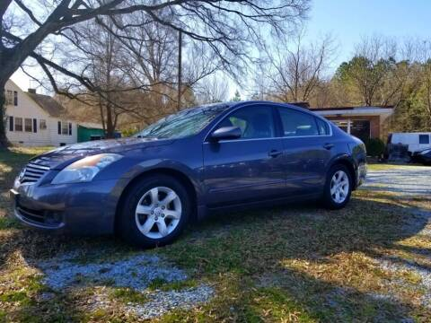 2009 Nissan Altima for sale at Progress Auto Sales in Durham NC