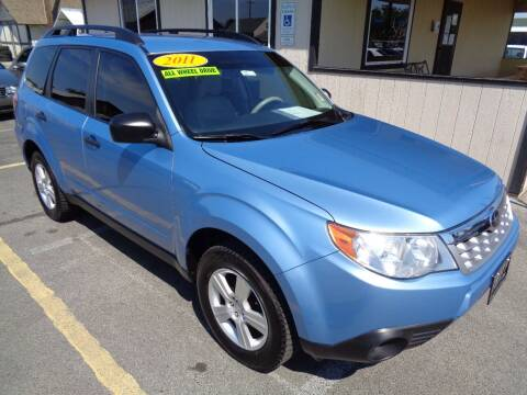 2011 Subaru Forester for sale at BBL Auto Sales in Yakima WA