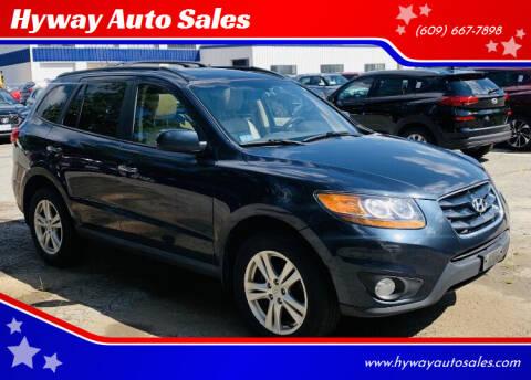 2010 Hyundai Santa Fe for sale at Hyway Auto Sales in Lumberton NJ