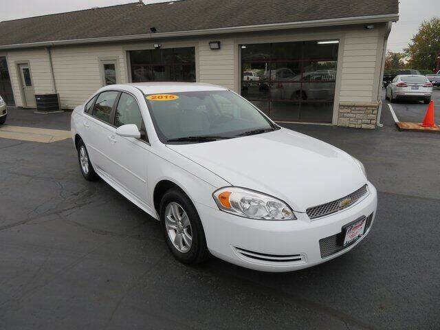 2015 Chevrolet Impala Limited for sale at Tri-County Pre-Owned Superstore in Reynoldsburg OH