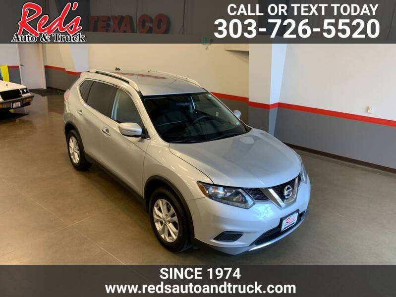 2015 Nissan Rogue for sale at Red's Auto and Truck in Longmont CO