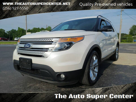 2015 Ford Explorer for sale at The Auto Super Center in Centre AL