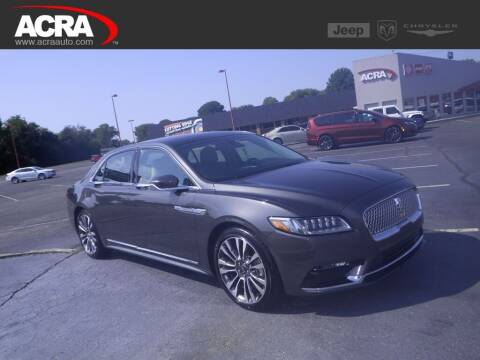 2017 Lincoln Continental for sale at BuyRight Auto in Greensburg IN