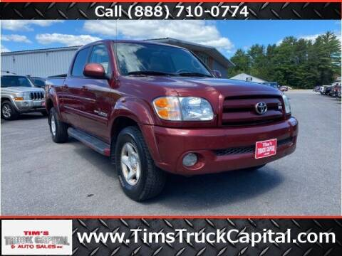 2004 Toyota Tundra for sale at TTC AUTO OUTLET/TIM'S TRUCK CAPITAL & AUTO SALES INC ANNEX in Epsom NH