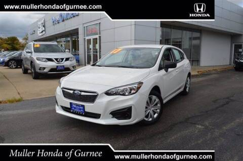 2017 Subaru Impreza for sale at RDM CAR BUYING EXPERIENCE in Gurnee IL
