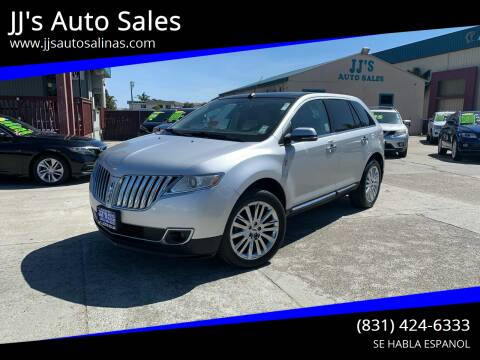 2015 Lincoln MKX for sale at JJ's Auto Sales in Salinas CA